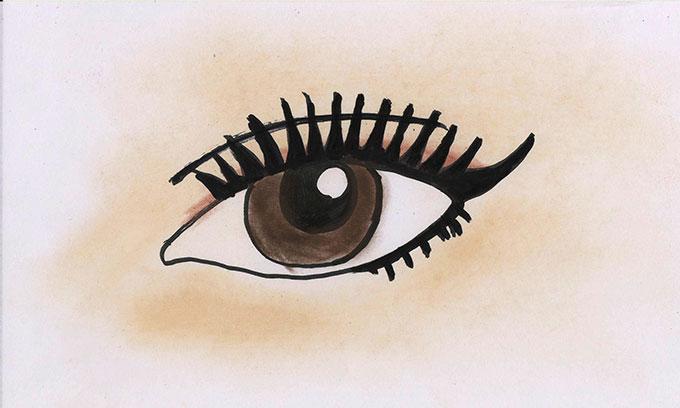 ネコセカイ肉球くるっと可愛いニャンコの目
